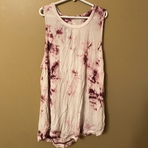American Eagle Outfitters Tops - Tie dye tank